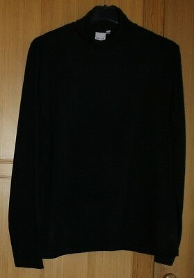PULL SOUS PULL homme marque INFLUX taille 50   52 Col roulé noire manches  long 9fa18736f82f