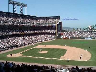 4/26 San Francisco GIANTS New York YANKEES (4 tix of 16 availabl) CLUB 205 AISLE
