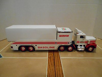 Servco 1996 toy truck and helicopter,NEW OLD STOCK , MINT!