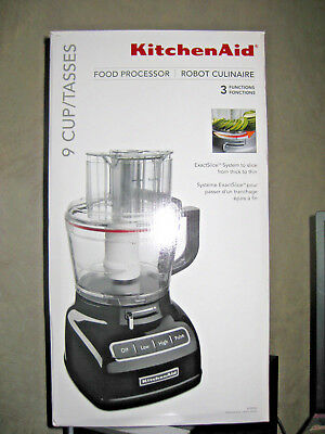 Kitchenaid 7 Cup Food Processor With Exactslice System Kfp0722 New