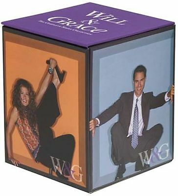 BRAND NEW Will and Grace Complete Series Set Seasons 1-8 33-Disc Set SEALED