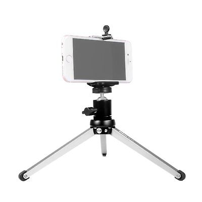 Foldable Tabletop Tripod Legs Macro Travel Heavy Duty Support Stand Phone Holder
