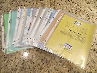 31 Diff. 1997 COMMEMORATIVE Souvenir Pages 1997 COMPLETE Scott# 3130/3177    M