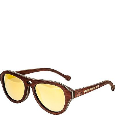 a3c6e8462f46 EARTH WOOD CLEARWATER Polarized Aviator Sunglasses