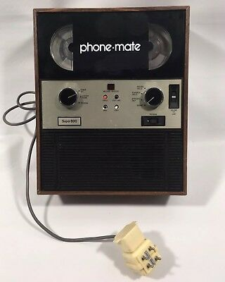 Vintage Phone Mate Super 800 Automatic Telphone Answerer Answering Machine Japan