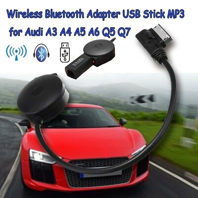AMI Cable Bluetooth Wireless USB Charging Audio Receiver Adapter for Audi  A5 Q7
