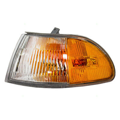 Fits Honda Civic 92-95 Drivers Corner Park Signal Marker Light - Amber & Clear