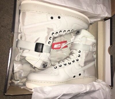 c303087bed6fe New 2017 Nike Special Field Air Force Light Bone Sail SF AF1 Women 857872  001