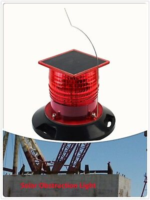 Doublewise Solar LED Obstruction Light ICAO Low Intensity Type B Aviation Light