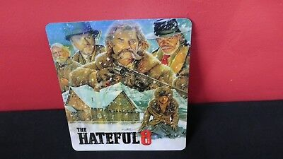 THE HATEFUL EIGHT 8 - 3D Lenticular Magnet / Magnetic Cover for BLURAY STEELBOOK