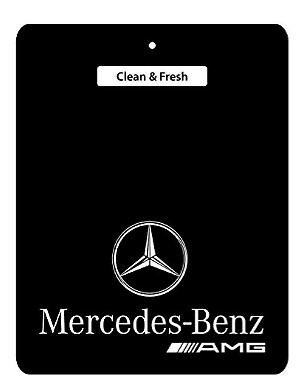 AMG Mercedes-Benz Car Air Freshener BLACK SERIES, 2 for £5