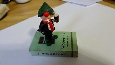 Vintage Andy Capp  Figure  Schleich very rare standing on Woodbine  Cigarettes