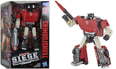 Transformers ~ SIDESWIPE ACTION FIGURE ~ Deluxe Class ~ Siege: War For Cybertron