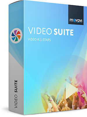 Movavi Video Suite v17, *NEW*, instant worldwide download, READ DESCRP CAREFULLY