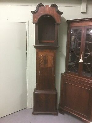 Antique Inlaid Grandfather. / Longcase Clock Case Sn-p
