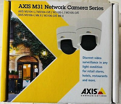 Axis M31 Network Camera Series- Affordable Flat Faced Domes With IR