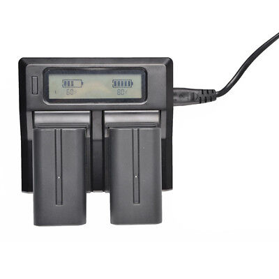 Super Rapid Charger Universal For Sony NP-F970 F960 F950 F770 F550