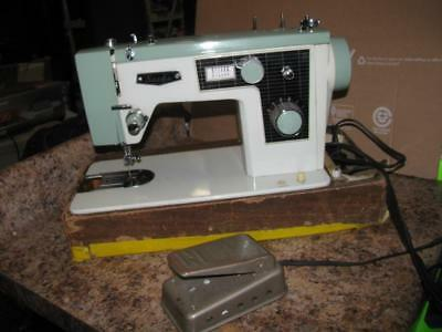 Ultra Rare Vintage Sacks Heavy Duty All-Metal Sewing Machine Model 290F- Working