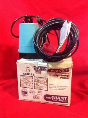 Water Wizard 5 Series Submersible Sump