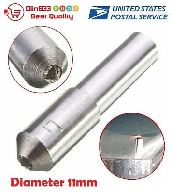 Diameter 11mm Grinding Disc Wheel Natural Diamond Dresser Dressing Pen Tool
