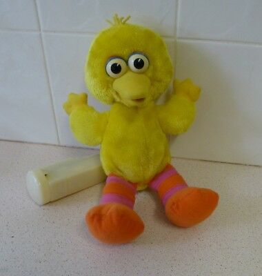"""Laughing / Vibrating Big Bird """"that's Funny""""- 1996 - Tyco / Jim Henson Product's"""