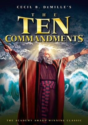 THE TEN COMMANDMENTS New Sealed DVD Charlton Heston