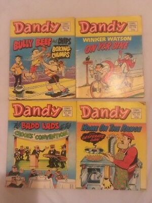 Dandy Comic Library Numbers 18, 19, 20 And 21