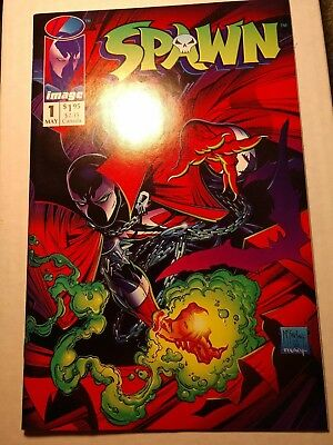 SPAWN #1 High Grade. First appearance of Spawn. Todd McFarlane 1992 Image Comics