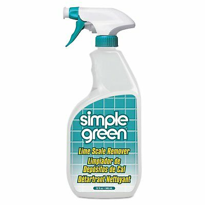 Simple Green Lime Scale Remover Wintergreen 32-ounce Bottle 12/Carton
