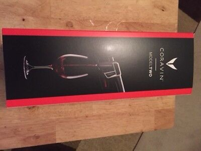 ~NEW~CORAVIN - Model Two Wine System~Brand New in Box ~  Black ~ Ready to use!