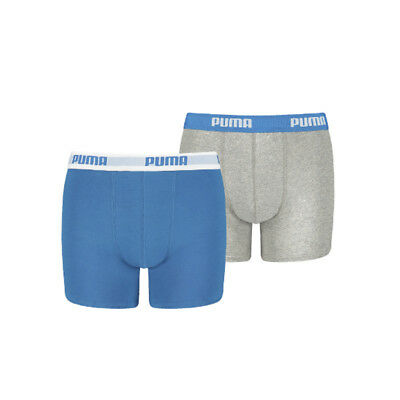 Puma Boys 2-Pack Basic Blue, Grey, 146-152