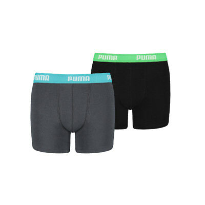 Puma Boys 2-Pack Basic India Ink, Turquoise-128