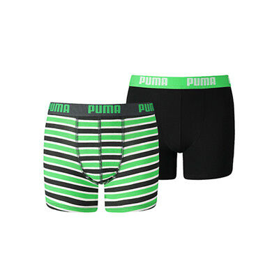 Puma Boys 2-Pack Printed Stripe Classic Green, 170-176