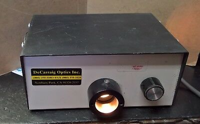 AFT LS 87/110 Fiber Optic Illuminator Light Source, tested, 75W