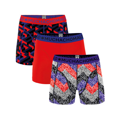 Muchachomalo boys 3-pack boxershort getting lost-158-164