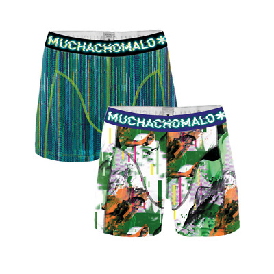 Muchachomalo boys 2-pack boxershort life is a glitch-134-140