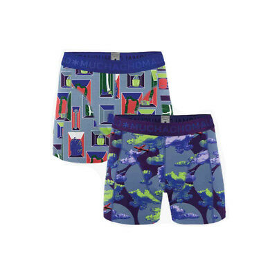 Muchachomalo Boys Boxershort 2-Pack Life is a Journey -134-140