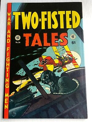 TWO-FISTED TALES #34 (EC Classic Reprints, 1974) VF Russ Cochran Wally Wood