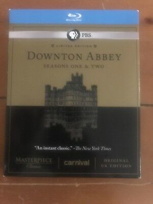 Masterpiece Classic: Downton Abbey - Seasons One & Two (Blu-ray Disc, 2012,...