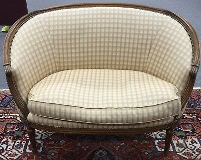 French Settee Loveseat