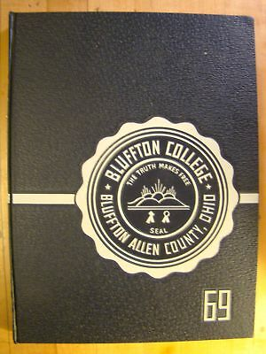 Buffton College ISTA Bluffton Allen County, Ohio 1969 Annual Yearbook