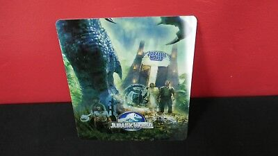 JURASSIC WORLD -  3D Lenticular Magnet / Cover / Card for BLURAY STEELBOOK