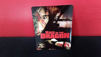 KISS OF THE DRAGON - 3D Lenticular Magnetic Cover / Magnet for BLURAY STEELBOOK