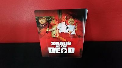 SHAUN OF THE DEAD - 3D Lenticular Magnetic Cover / Magnet for BLURAY STEELBOOK