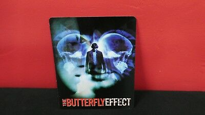THE BUTTERFLY EFFECT 3D Lenticular Magnet / Magnetic Cover for BLURAY STEELBOOK