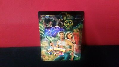BIG TROUBLE IN LITTLE CHINA - 3D Lenticular Cover / Magnet for Bluray Steelbook