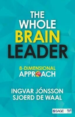 NEW The Whole Brain Leader By Ingvar Jonsson Paperback Free Shipping