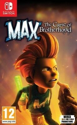 Max The Curse Of Brotherhood Nintendo Switch * NEW SEALED PAL *