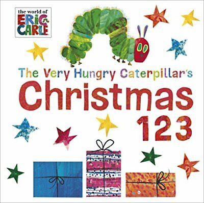 Very Hungry Caterpillar's Christmas 123 by Carle, Eric Book The Cheap Fast Free