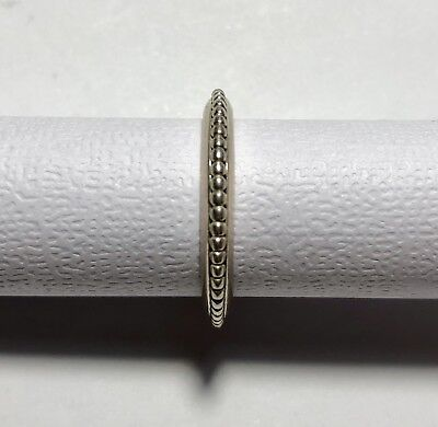 """eafa76bb7 Authentic PANDORA """"Forbidden"""" Ring 190827 RARE RETIRED 925S ALE Approx US  Size 9"""